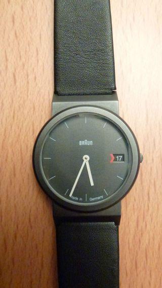 Braun Armbanduhr Aw50 3805 Kaum Getragen Neuwertig Bild