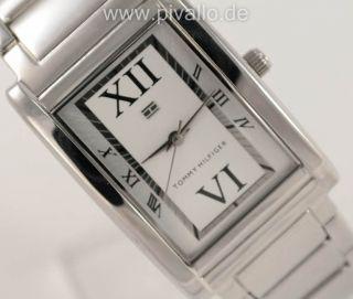 Tommy Hilfiger Damenuhr / Damen Uhr Edelstahl Silber Weiß Dezent 1780860 Bild