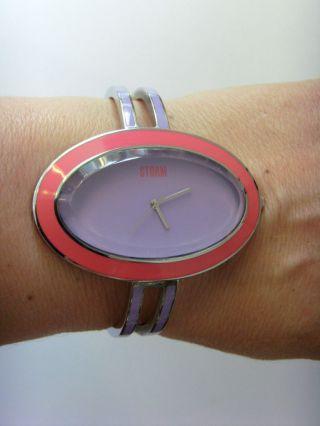 Storm London Uhr Watch Kelli Purple Stormuhr Lila Rot Poliert Bild