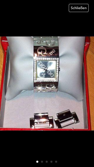 Guess Armbanduhr Silber Damen Orginal Bild