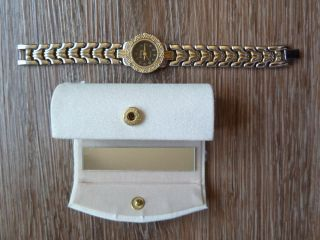 Damen Armbanduhr Irion Quarz Damenuhr Lippenstift Etui Case Box Lippenstiftetui Bild