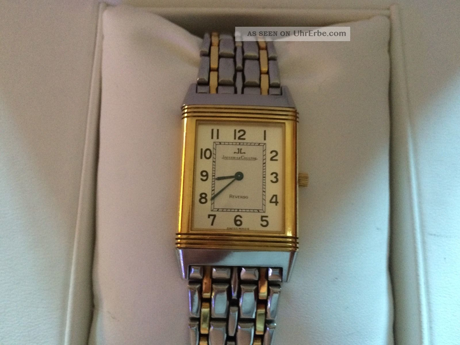 Jaeger Lecoultre Reverso - Mechanisch - Damenuhr In Stahl / Gold Armbanduhren Bild