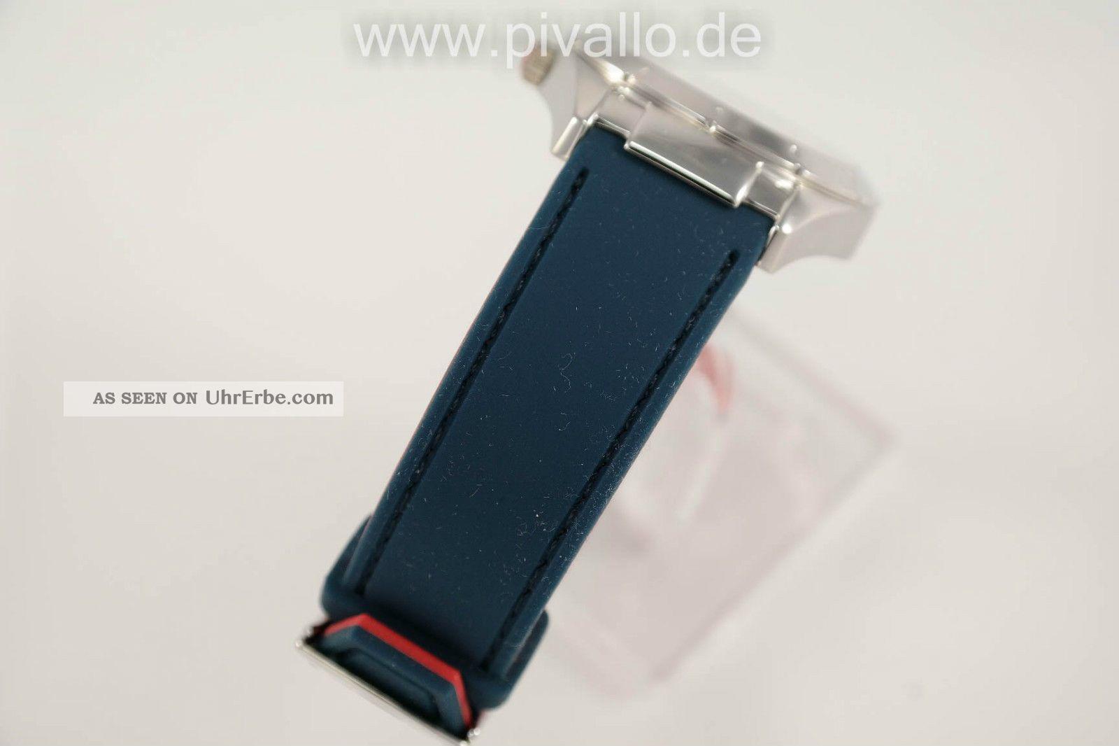 tommy hilfiger damenuhr damen uhr silikon armband drehbar blau rot. Black Bedroom Furniture Sets. Home Design Ideas
