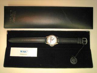 """Wmc Excellence Armbanduhr Von Timepieces,  Ovp.  """"the Lippewerker"""" Ungetragen Bild"""