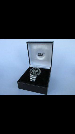 Montblanc Summit Steel Xl Chronograph Mont Blanc Armbanduhr Bild