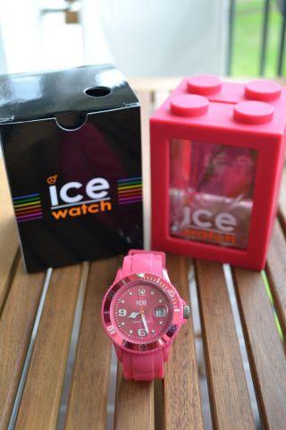 Ice - Watch Unisex Armbanduhr - Ice Winter Honey Pink - Sili Ice Watch Uhr Bild