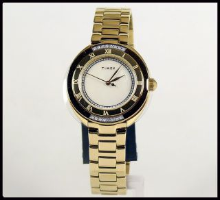Timex Damenuhr Mit Kl.  Diamanten Neuwertig,  Da Nie Getragen Bild