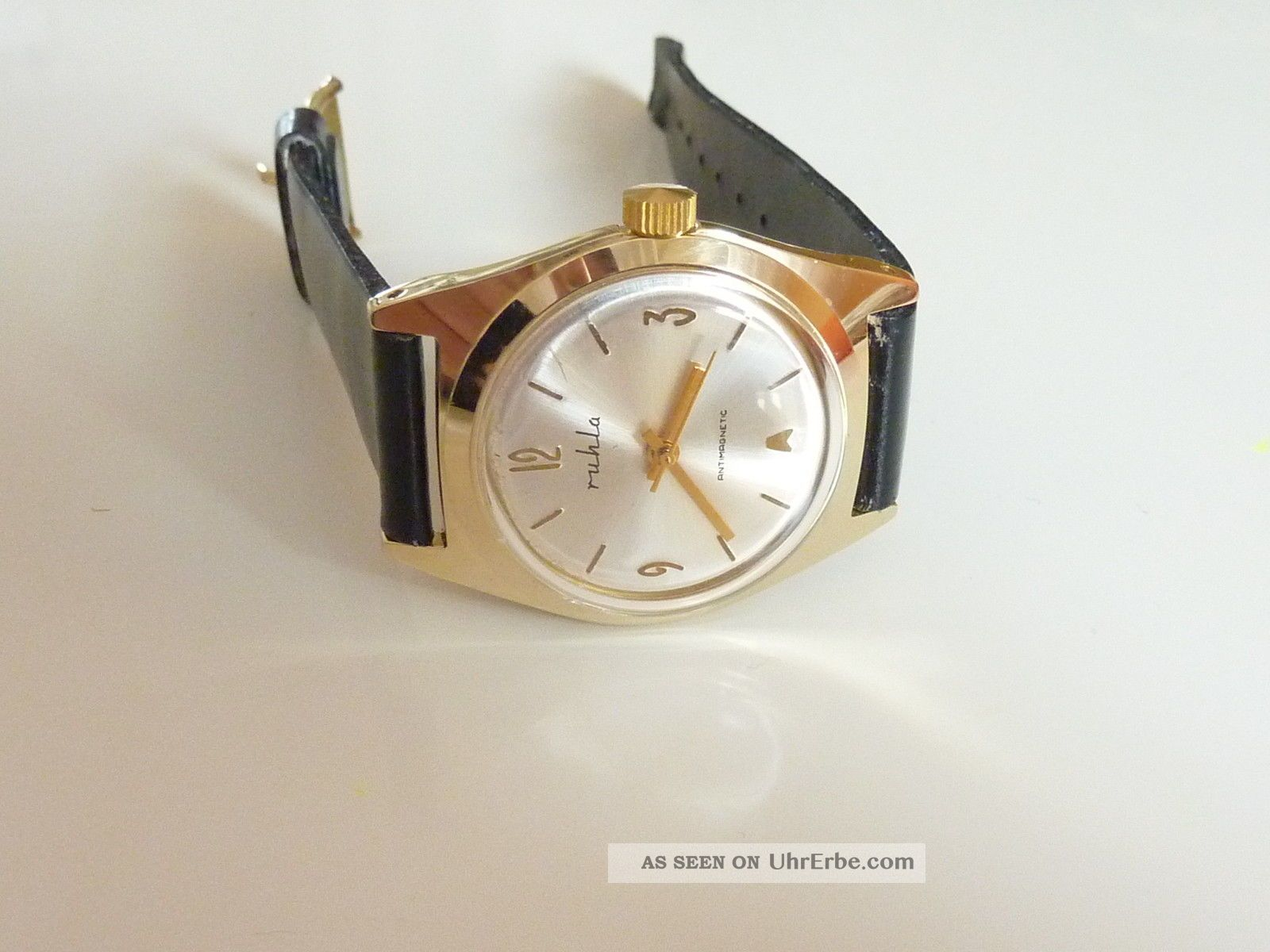 Ruhla Herrenuhr,  Ungetragen,  Vintage Ddr,  70er 80er Jahre,  Nos Armbanduhren Bild