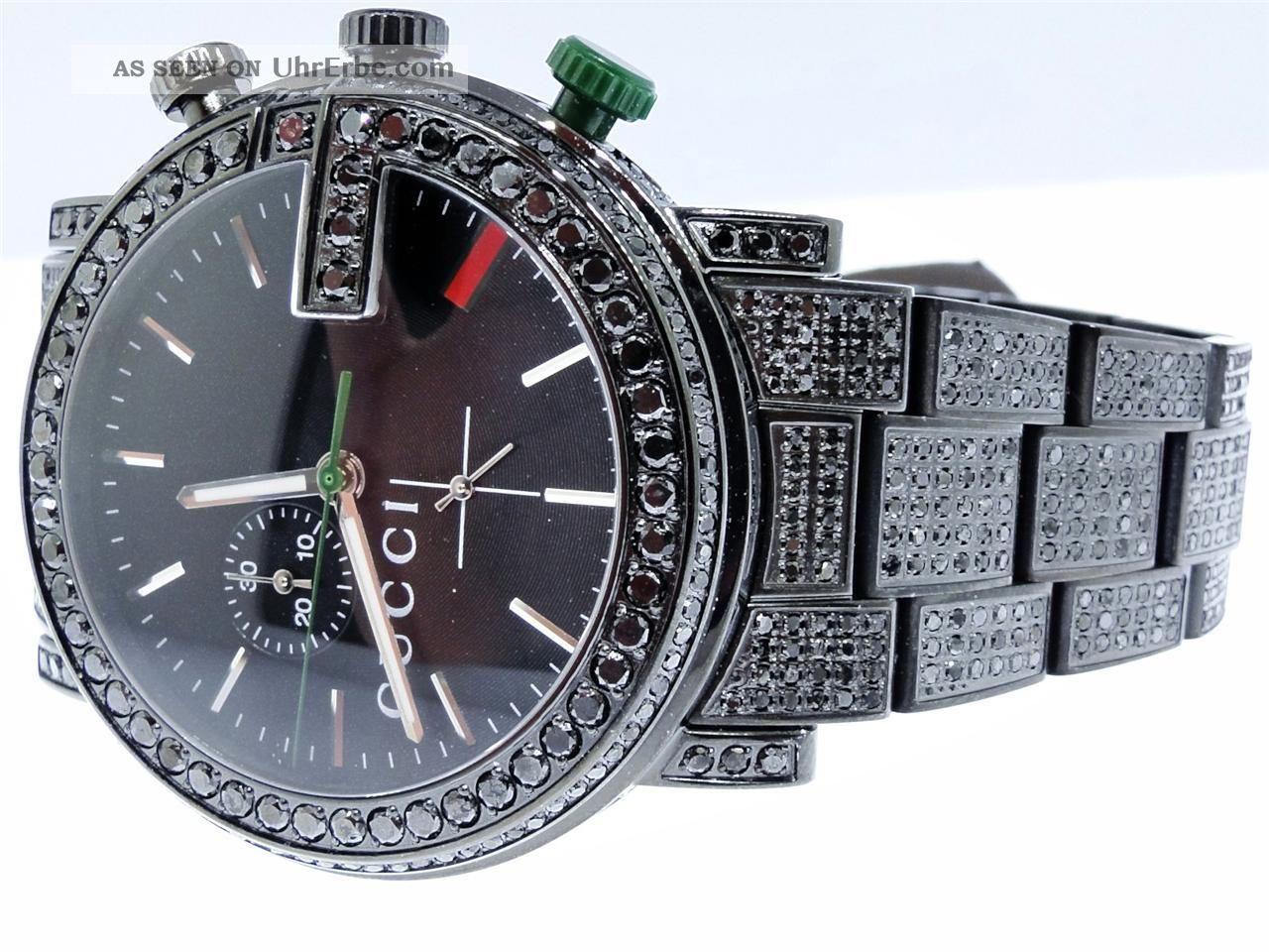 Gucci damenuhr diamanten