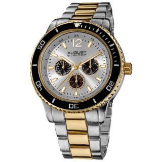 Armbanduhr August Steiner Xxiv As8059ttg Quarz Tauchen Herren Multifunktion Bild