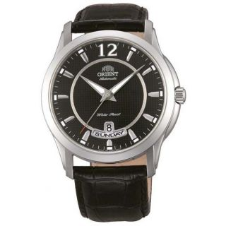 Armbanduhr Herren Orient Ev0m002b Lexington Schwarz Ziffernbl.  Leder Band Bild
