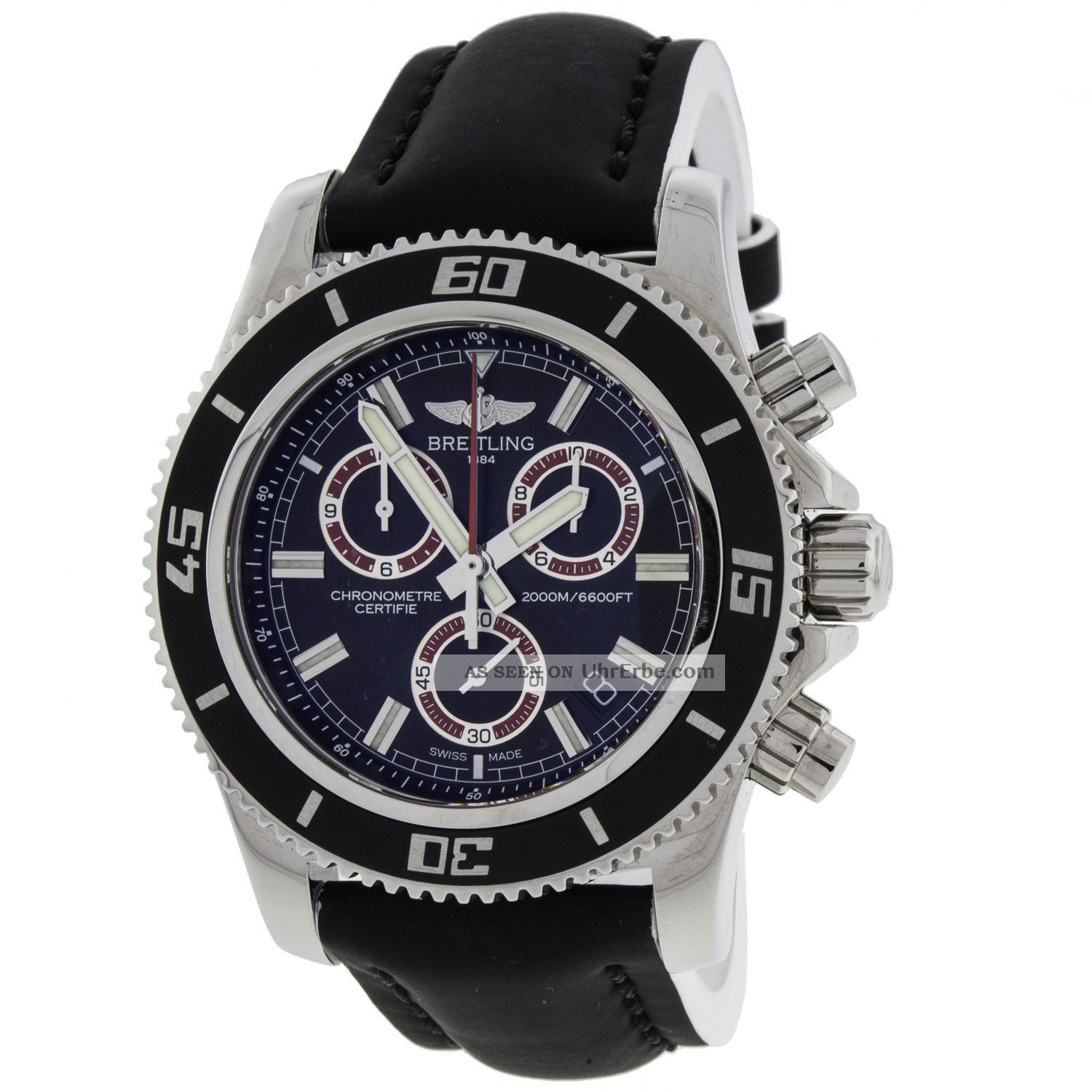 armbanduhr herren breitling a73310 superocean chronograph. Black Bedroom Furniture Sets. Home Design Ideas