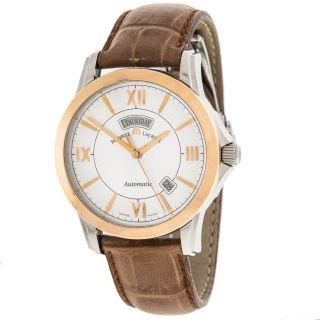Armbanduhr Herren Maurice Lacroix Pontos 18k/ss Tag/datum Automatisch Ref.  Pt6058 Bild