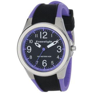 Damen Armbanduhr Freestyle 101981 Schwarzes Zifferblatt Rosa & Schwarz Quarz Bild