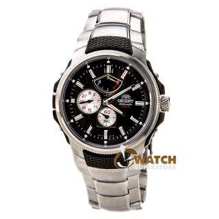 Orient Ez05002b Herrenmeisterschaft Automatic Black Dial Uhr Bild