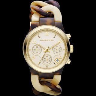 Damen Armband Micael Kors Schildkröte Und Horn Azetat Armband W Mk4270 - Bild