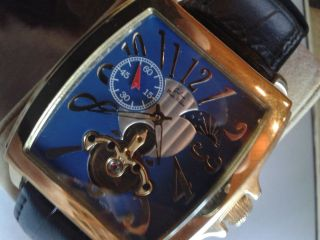 Graf Von.  Monte Wehro Paris Day And Night - Blue Automatik Bild