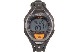 Sport Armbanduhr Herren Timex Ironman T5k3359j Orange Wasserfest Bild