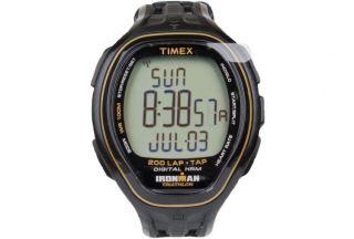 Timex Ironman Ziel Turnschuhe T5k545 F 5 Unisex Freizeit Lifestyle Schwarze Bild