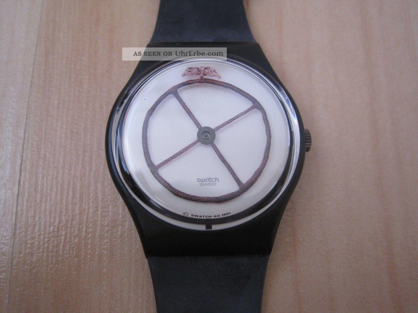 Swatch Not Vital Wheel Animal Gz120 Armbanduhr 700 Jahre Schweiz Mit Ovp Armbanduhren Bild