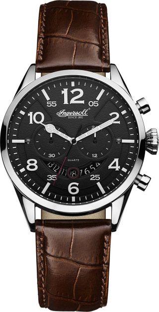 Ingersoll - Compton - Inq029bksl Sehr Schöne Armbanduhr Mit Quartzwerk Bild