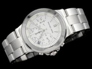 Michael Kors Uhr Mk5221 Damenuhr Parker Silber Chrono Datum Uhr 250€ Ovp Bild