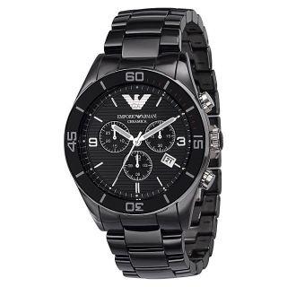Emporio Armani Ceramica Ar1421 Armbanduhr Für Herren Bild