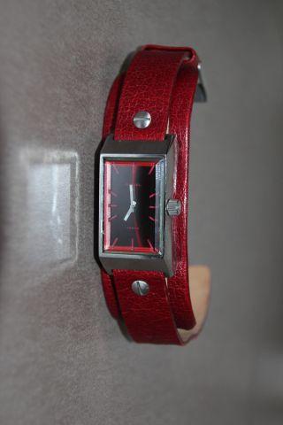 Diesel Armbanduhr – Style - Rar - Rot Bild