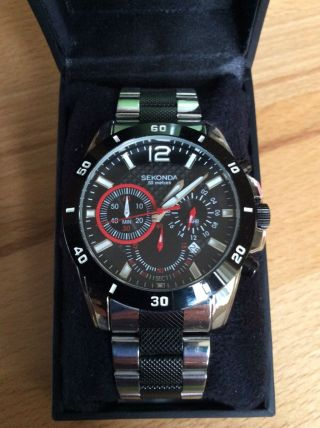 Sekonda Hochwertige Armbanduhr Für Herren Bild