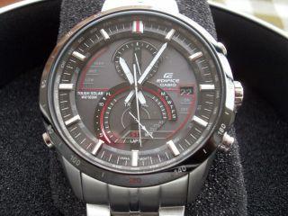 Casio Herren Edifice Solar Armbanduhr Eqs A500db 1aver A Bild