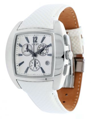 Joop Herren Armbanduhr Icon Chrono Weiß Jp100511f04 Bild
