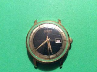 Junghans Handaufzug Armbanduhr 50 Er 60er Jahre Bild