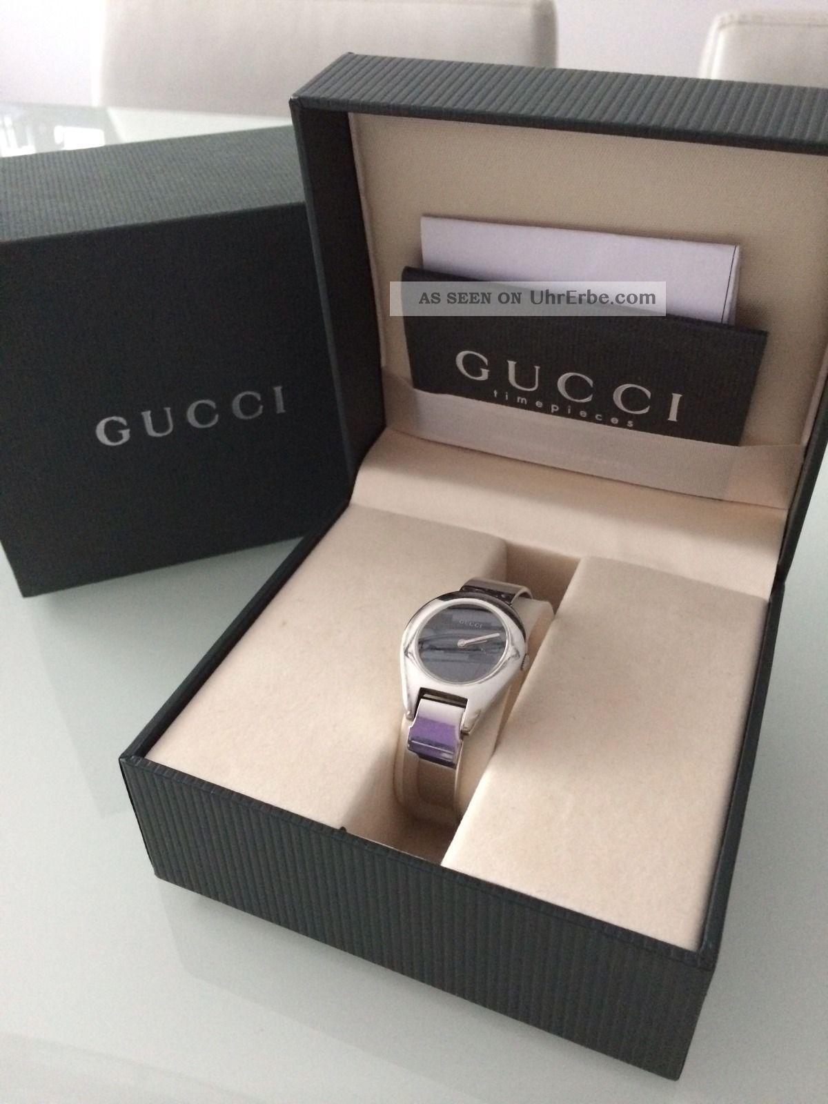 Gucci Damenuhr 100 6700l Armbanduhren Bild