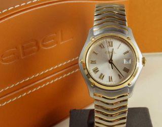 Ebel Classic - Stahl/gold - Lady Uhr 1257f21/6225 (1215648) Box / Papiere Bild