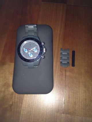 Triwa Unisex Herren Damen Uhr Chronograph,  Armbanduhr,  Grey/grau, Bild