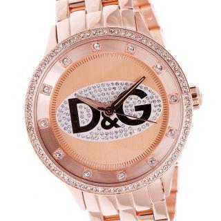 D&g Time Damenuhr Rosegold Bild