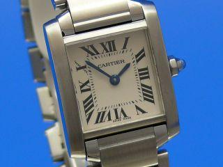 Cartier Tank Francaise Damenuhr Ankauf Von Luxusuhren Tel.  03079014692 Bild