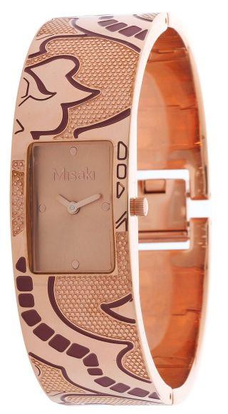 Misaki Damen Armbanduhr Bronze Qcrwelisalarge Bild