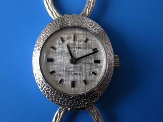 Anker 14 Karat Weißgold Damen - Armbanduhr (bitte Lesen) Mit Armband Bild