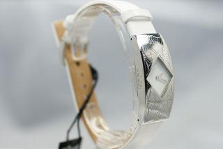 Joop Damenarmbanduhr Tl455 - 1 Weiß Luxus Uhr Lederarmband Rar Edel Style Bild