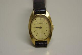 Tissot Damen Armbanduhr,  Handaufzug,  Läuft Nicht Bild