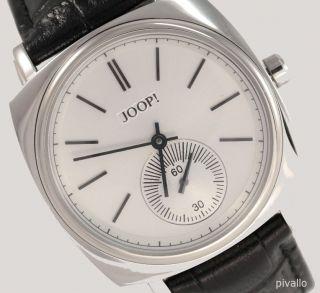 Joop Damenuhr / Damen Uhr Echt Leder Edelstahl Schwarz Silber Jp100352f01 Bild