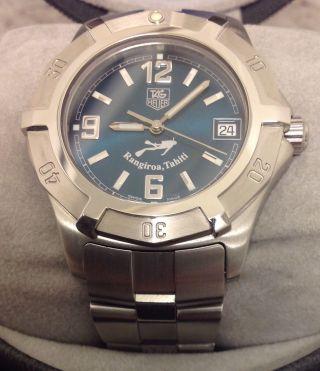 Tag Heuer 2000 Limited Edition Rangiroa Tahiti Armbanduhr Watch Nos Bild