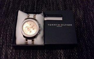 Top Weihnachtsgeschenk Tommy Hilfiger Uhr Damenuhr Serena Ovp Rosegold Weiß Bild