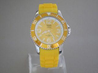Tom Watch,  Pineapple Yellow,  44 Mm,  Wa00009 Bild