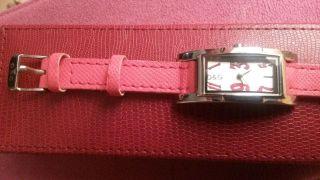 Dolce & Gabbana Leder Damen Uhr Bild