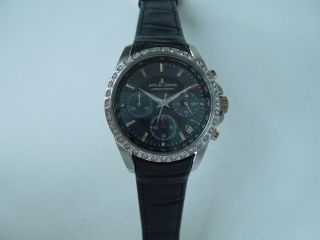 Jacques Lemans Damen - Armbanduhr Xs Chronograph Quarz Leder 1 - 1724a Watch Bild