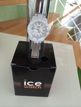 Ice Watch Uhr Unisex Armbanduhr Weiss Cl.  We.  B.  P.  09 Herren Damen Unisex Bild