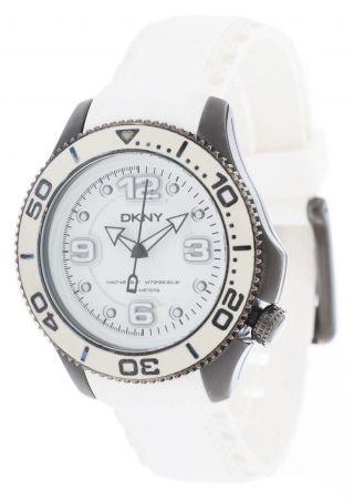 Dkny Donna Karan Damen Armbanduhr Weiß Ny4405 Bild