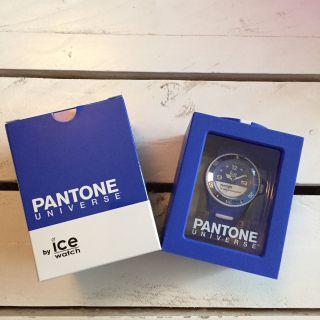 Ice - Watch Pantone Universe Dazzling Blue Pan.  Bc.  Dab.  U.  S.  13 Bild